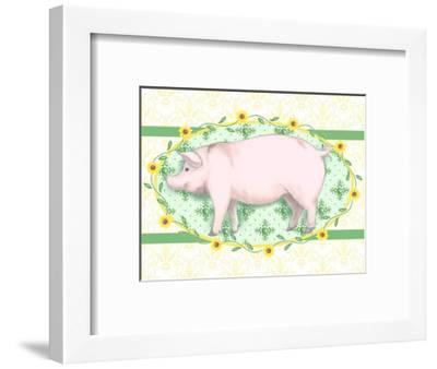 Piggy Wiggy I-Andi Metz-Framed Art Print
