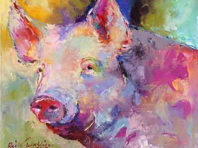 Piggy-Richard Wallich-Giclee Print