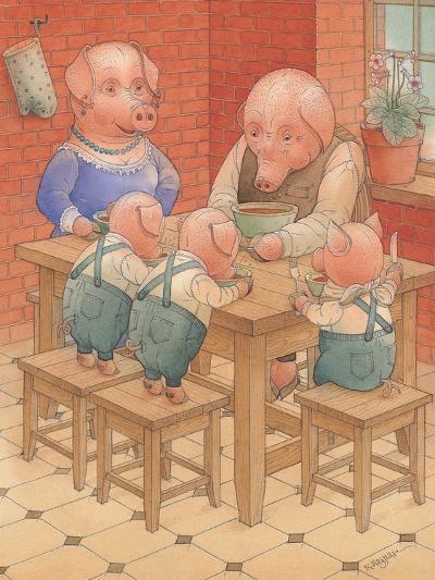 Pigs, 2005-Kestutis Kasparavicius-Giclee Print