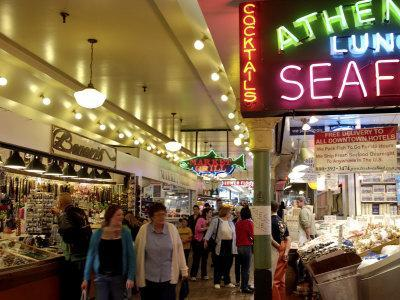 Pike Market, Seattle, Washington State, United States of America, North America-De Mann Jean-Pierre-Photographic Print