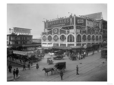 Pike Place Market Photograph - Seattle, WA-Lantern Press-Art Print