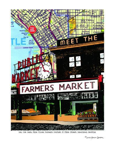 Pike Place Market Seattle--Art Print