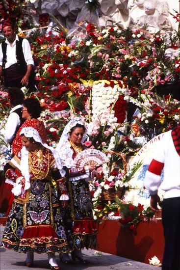 Pilar Celebration, Zaragoza, Aragon, Spain--Photographic Print