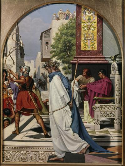 Pilate Delivering Christ to the People-Christen Dalsgaard-Giclee Print