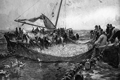Pilchards, 1900-Charles Napier Hemy-Giclee Print