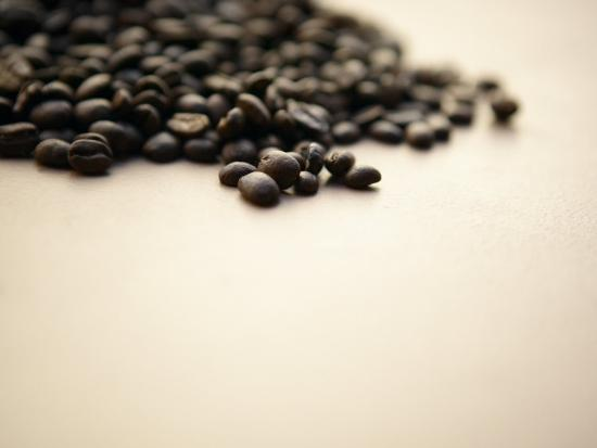 Pile of Coffee Beans--Photographic Print