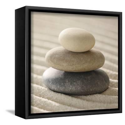 Pile of Pebbles-Gregor Schuster-Framed Canvas Print
