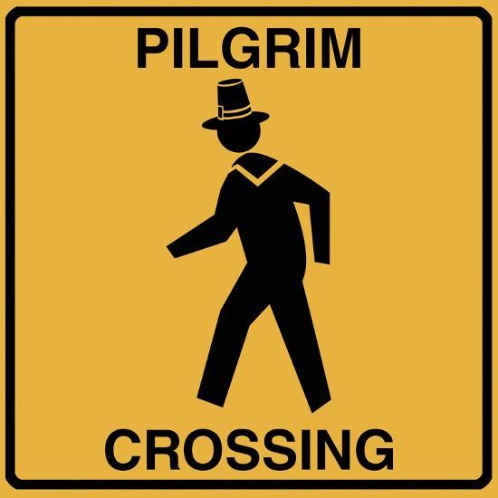 Pilgrim Crossing-Tina Lavoie-Giclee Print