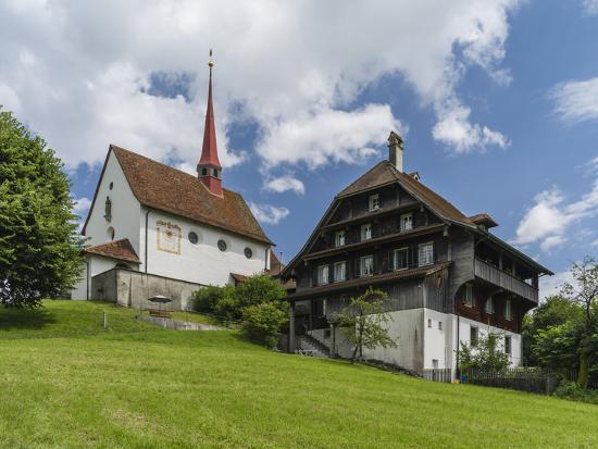Pilgrimage chapel Maria Mitleiden in Gormund-enricocacciafotografie-Photographic Print