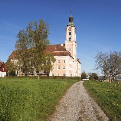 Pilgrimage Church of Birnau Abbey in Spring, Lake Constance, Baden-Wurttemberg, Germany-Markus Lange-Photographic Print