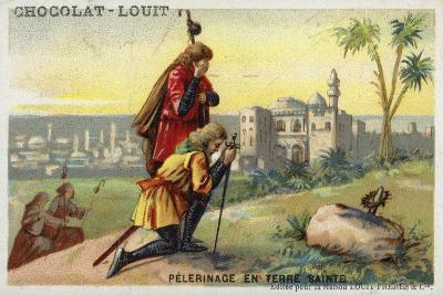 Pilgrimage to the Holy Land--Giclee Print