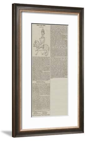 Pilgrims' Sign--Framed Giclee Print