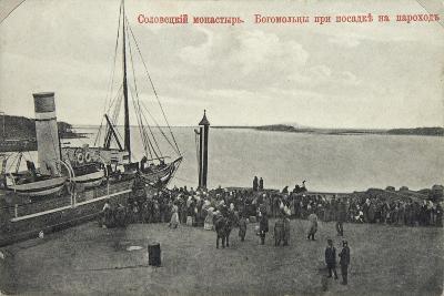 Pilgrims, Solovetsky Monastery, Russia, 1904-Maxim Dmitriev-Giclee Print