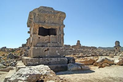 Pillar Tomb, Xanthos, Turkey--Photographic Print