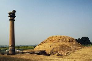 Pillars of Ashoka in Vaishali, Bihar, India