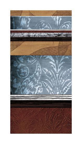 Pillars of Pattern II-W^ Blake-Giclee Print
