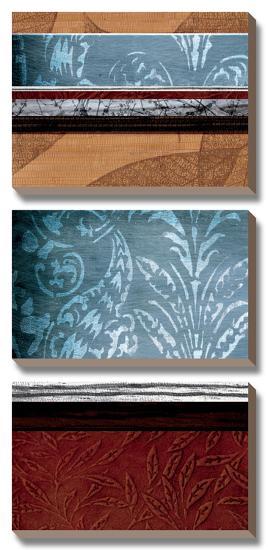 Pillars of Pattern II-W^ Blake-Canvas Art Set
