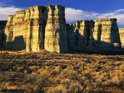 Pillars of Rome, Malheur County, Oregon, USA-Charles Gurche-Photographic Print