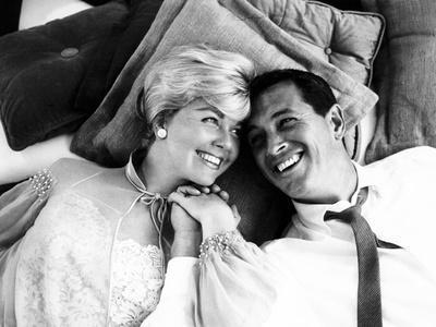 Pillow Talk, Doris Day, Rock Hudson, 1959--Photo