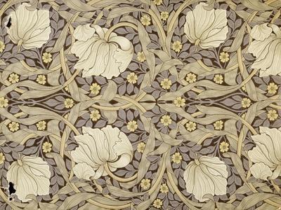 Pimpernell, Design For Wallpaper, Morris, William-William Morris-Giclee Print