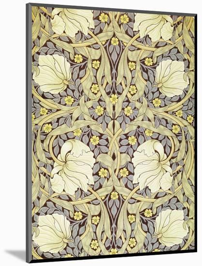 Pimpernell, Wallpaper Design-William Morris-Mounted Premium Giclee Print