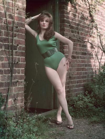 Pin-Up in Leotard-Charles Woof-Photographic Print
