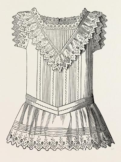 Pinafore for Girl of Three, Front, 1882, Fashion--Giclee Print