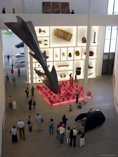 Pinakothek Der Moderne, Germany's Biggest Museum of Modern Art, Munich, Bavaria, Germany-Yadid Levy-Photographic Print