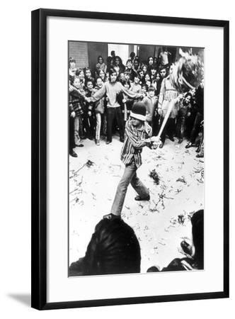 Pinata Party, C.1970-80--Framed Photographic Print