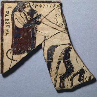 Pinax of Penteskouphia, Amphitrite and Poseidon, Ancient Greece--Giclee Print