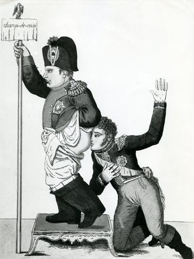 Pinching of the Nose - Ney's Declaration, I Swear it Smells of Violet, 1815--Giclee Print