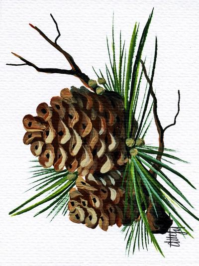 pine cone copy brochure-Debbi Wetzel-Giclee Print