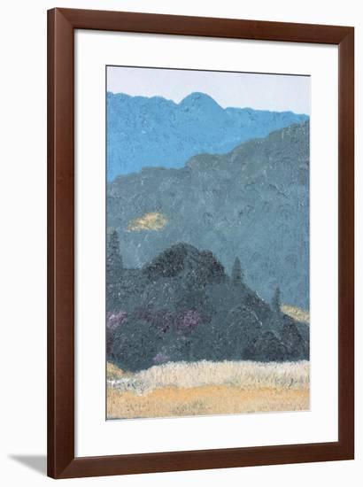 Pine Ridge-Gaetan Caron-Framed Giclee Print