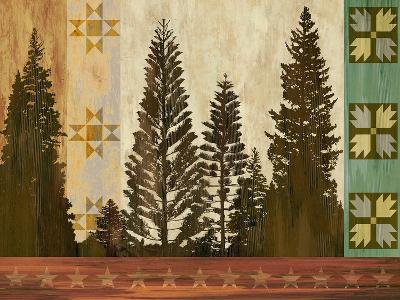 Pine Trees Lodge II-Tania Bello-Art Print