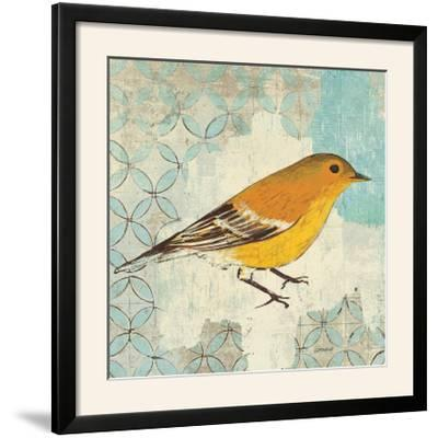 Pine Warbler-Kathrine Lovell-Framed Photographic Print