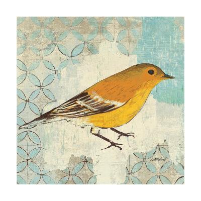 Pine Warbler-Kathrine Lovell-Art Print