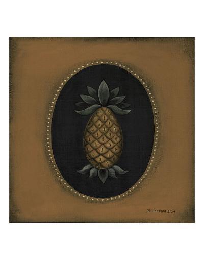 Pineapple 04-Barbara Jeffords-Art Print