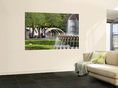 Pineapple Fountain, Charleston, South Carolina, USA-Adam Jones-Giant Art Print