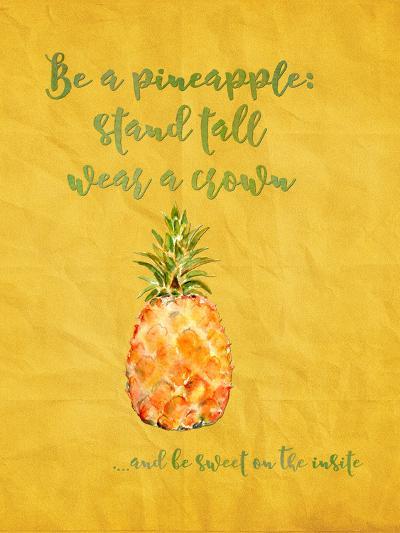 Pineapple Fruit Summer-Grab My Art-Art Print