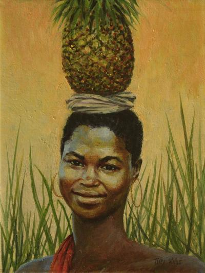 Pineapple Girl, 2004-Tilly Willis-Giclee Print