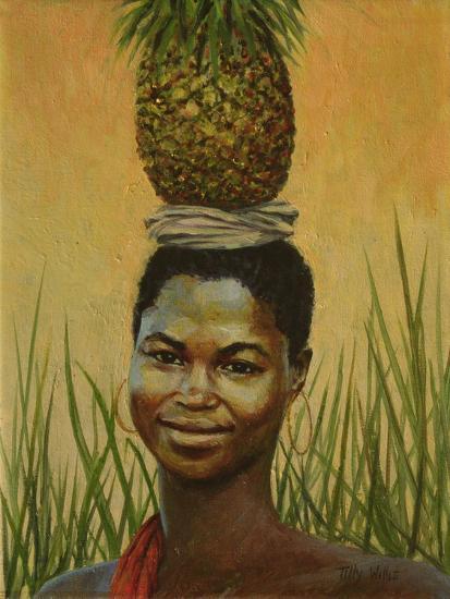 Pineapple Girl, 2004-Tilly Willis-Giclee Print