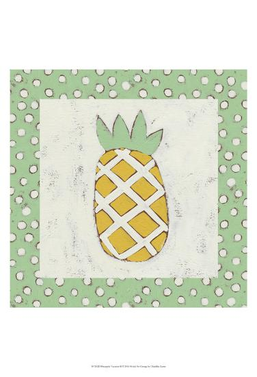 Pineapple Vacation II-Chariklia Zarris-Art Print