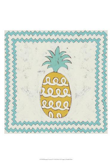 Pineapple Vacation IV-Chariklia Zarris-Art Print