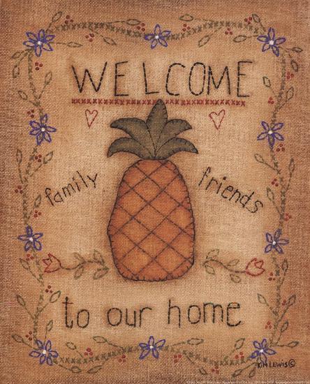 Pineapple-Kim Lewis-Art Print