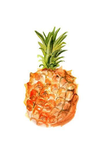 Pineapple-shoshina-Art Print