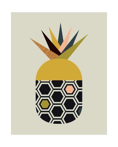 Pineapple-Little Design Haus-Giclee Print