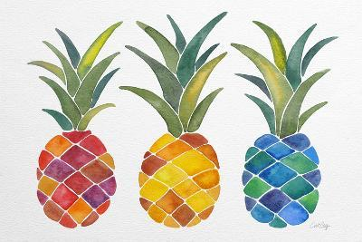 Pineapples-Cat Coquillette-Giclee Print