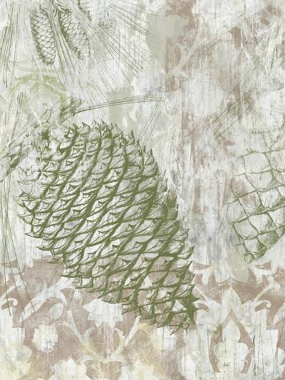 Pinecone Fresco I-June Vess-Art Print