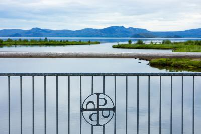 Pingvellir National Park, Bridge, Icon-Catharina Lux-Photographic Print