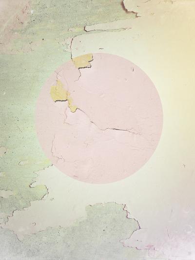Pink Abstract--Art Print